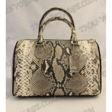 Bag female from leather python - TV000530