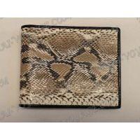 Purse male python leather - TV000533