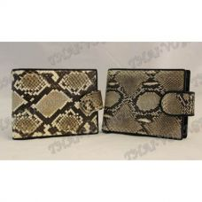 Purse male python leather - TV000534