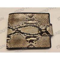 Purse male python leather - TV000535