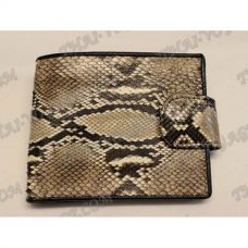 Purse male python leather - TV000535