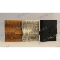 Purse female from sea snake leather - TV000536