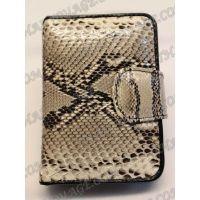 محفظة جلد الثعبان الإناث - TV000537