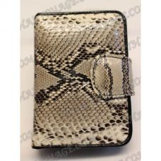 Purse female from python leather - TV000537