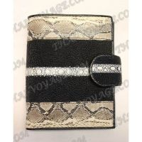 Purse male stingray leather and snake - TV000538