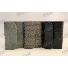 Purse female from sea snake leather - TV000539