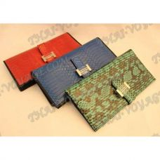 Purse female from sea snake leather - TV000541