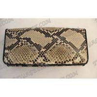 Purse weibliche Python-Haut - TV000542