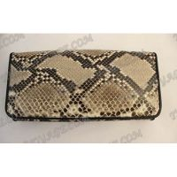 Purse femme peau de python - TV000542