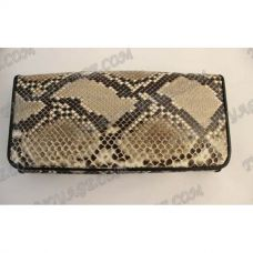 Purse female from python leather - TV000542