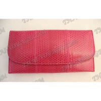 Purse female from sea snake leather - TV000544