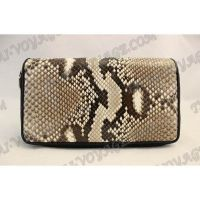 Wallet male from python leather - TV000546