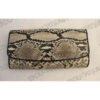 Purse weibliche Python-Haut - TV000547