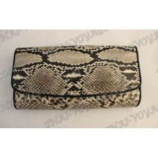 Purse female from python leather - TV000547