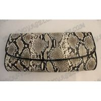 Clutch female from python leather - TV000549