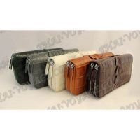 Wallet crocodile leather - TV000551