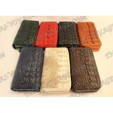 Porte-monnaie en peau de crocodile - TV000553
