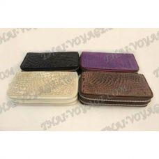Porte-monnaie en peau de crocodile - TV000554