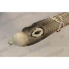 Belt male from leather cobra with head cobra - TV000555