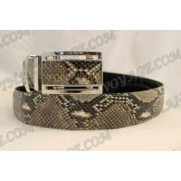 Belt male from python leather - TV000556