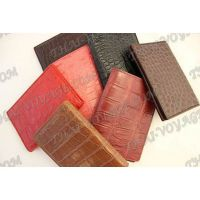 Cover for passport / documents from crocodile leather - TV000559