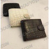 Purse männlich Krokodilhaut - TV000565