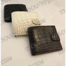 Purse mâle peau de crocodile - TV000565
