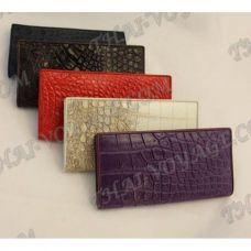 Purse female crocodile leather - TV000574