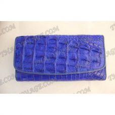 Portafoglio donna in pelle di coccodrillo - TV000577