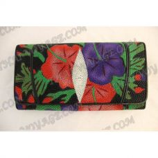 Purse female stingray leather - TV000585
