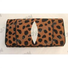 Purse female stingray leather - TV000587