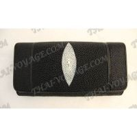 Purse female stingray leather - TV000589