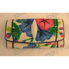 Purse female stingray leather - TV000594