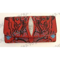 Purse female stingray leather - TV000602