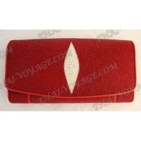 Purse female stingray leather - TV000603
