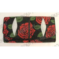 Purse female stingray leather - TV000608