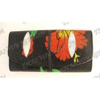 Purse female stingray leather - TV000610