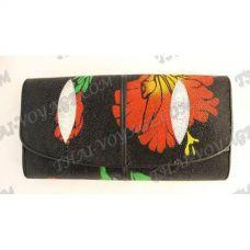 Purse female stingray leather - TV000610