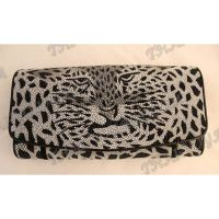 Purse female stingray leather «Leopard» - TV000612