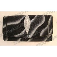 Purse female stingray leather - TV000616