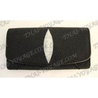 Purse female stingray leather - TV000619