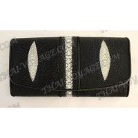 Purse female stingray leather - TV000620