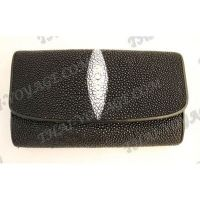 Purse female stingray leather - TV000621