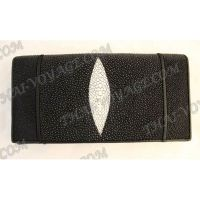 Purse female stingray leather - TV000629