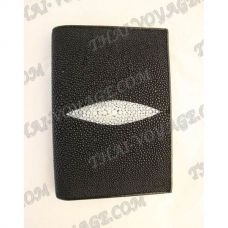 Cover for passport / documents stingray leather - TV000632