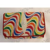 Purse female stingray leather - TV000637