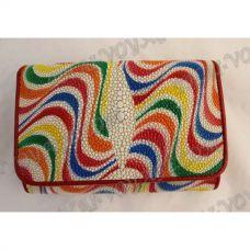 TV000637 - 財布の女性は革をアカエイ