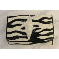 Purse female stingray leather - TV000640