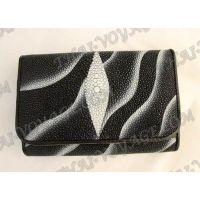 Purse female stingray leather - TV000641