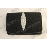Purse female stingray leather - TV000642